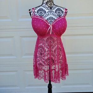 Padded cup lingerie NWOT